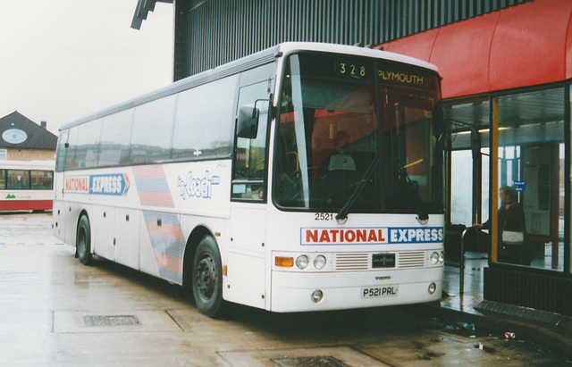 First Western National P521 PNL at Rochdale - 22 Dec 2002