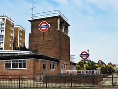 redbridge tube station, london