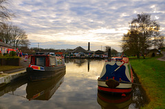 Norbury Junction, Shropshire Union canal