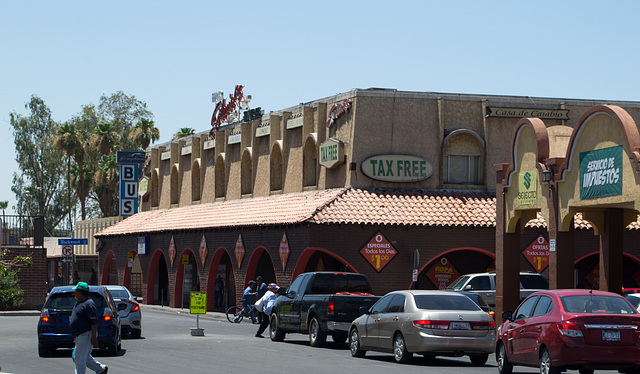 Calexico CA border downtown (# 0580)