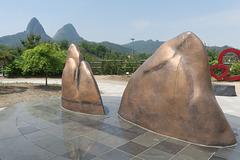 La Montagne aux Oreilles de cheval, Monts Maisan (Corée du Sud)
