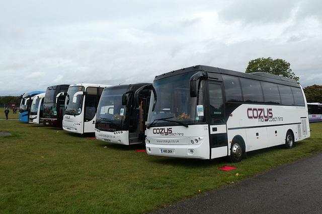 Cozy Travel vehicles at Showbus - 29 Sep 2019 (P1040590)