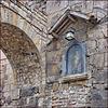 Barcellona : Un dettaglio in una stretta via del centro storico