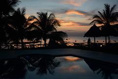 Zanzibar, Evening in Swahili Beach Resort