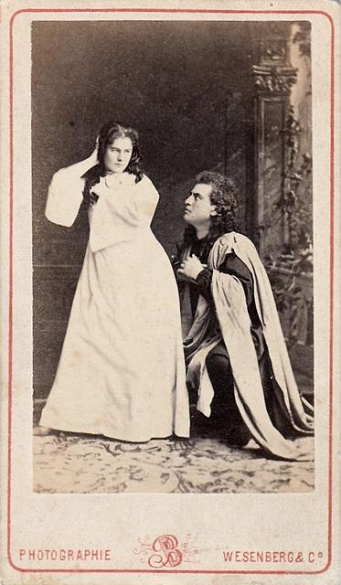 Wilhelmina Raab and Ivan Melnikov by Wesenberg