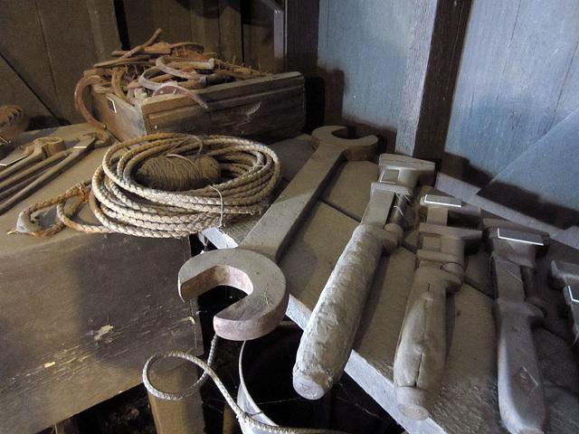 Blacksmith's Tools at Coachella Valley History Museum (2599)