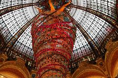 Sous la Coupole des Galeries Lafayette