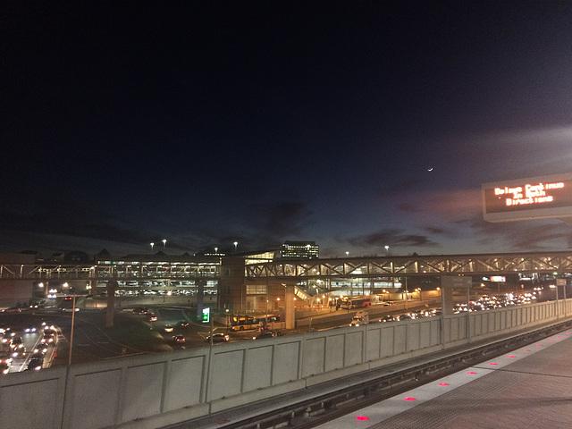 moon over Tysons Corner