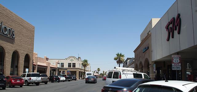 Calexico CA border downtown (# 0578)