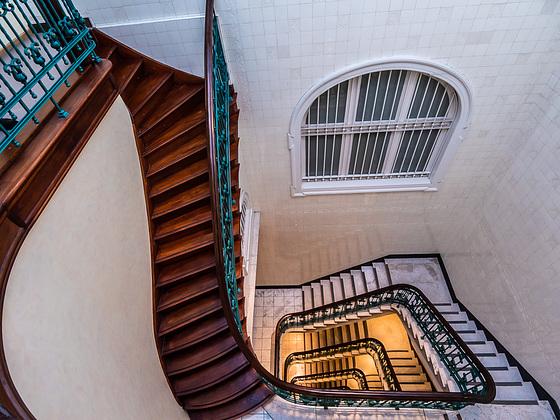 Treppenhaus / Staircase (3xPIP)