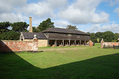 194 Park Farm Henham, Suffolk (Building H Exterior, Eastern Elevation And Farm Yard Walls