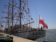 """Dar Młodzieży"" - Polish tall ship (1981)."