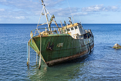 wreck of Addie