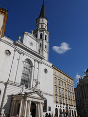 Wien, Michaelerkirche / Vienna, St. Michael's Church