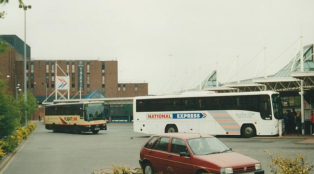 National Express coach station, Leeds - 5 May 2002