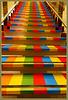 Escalier Palette de couleurs