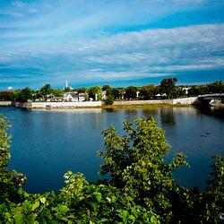 La rivière….