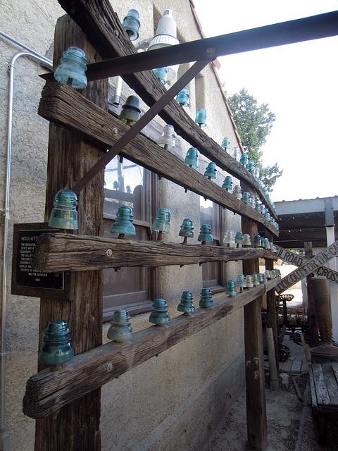 Glass Insulators at Coachella Valley History Museum (2601)