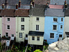 Chepstow- Pastel-coloured Terrace
