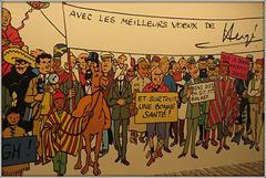 Tintin, Happy new year