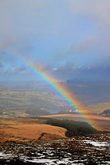 Rainbow over the Holme Valley