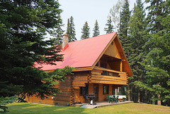 Chalet, Becker's Lodge, Bowron Lake, BC