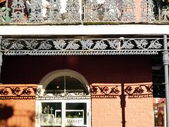 Balkon in der Royal Street, New Orleans