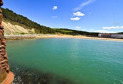 Playas de Gorliz y Plentzia, desde Astondo