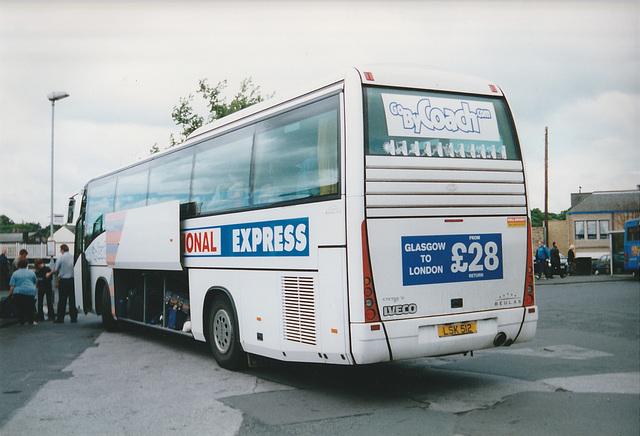 Parks of Hamilton LSK 512 at Skipton - 31 May 2001