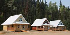 Guest Cabins, Barkerville, BC