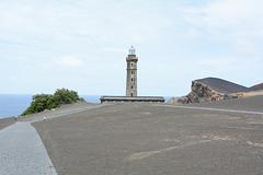 Azores, The Island of Faial, The Lighthouse of Capelinhos