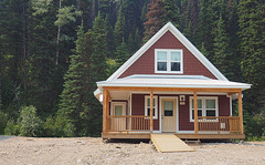 Guest Cabin, Barkerville, BC