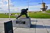 Vlissingen 2017 – Monument for the landing of the marines during Operation Infatuate I