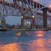 Blue Water Bridge Reflections