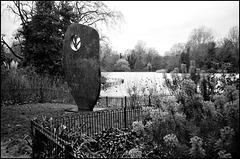 Sculpture, Battersea Park.