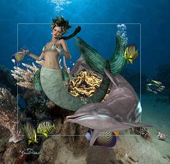 Mermaid and friends