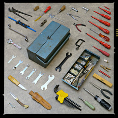 Ode to an old tool box