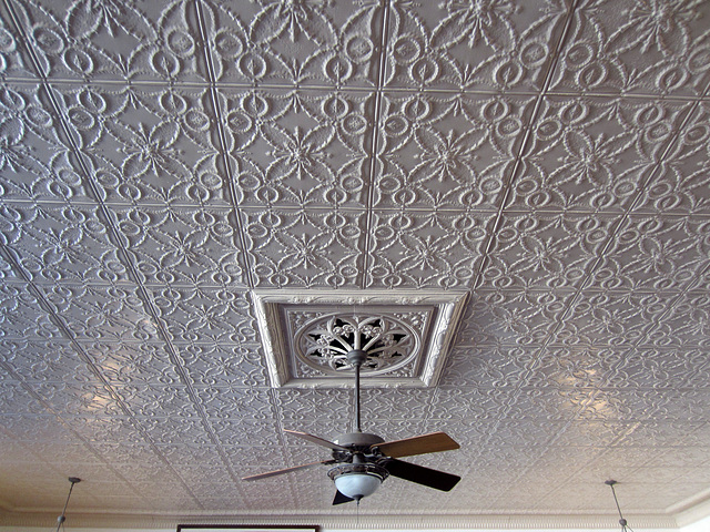 Old Schoolhouse Ceiling at Coachella Valley History Museum (2611)