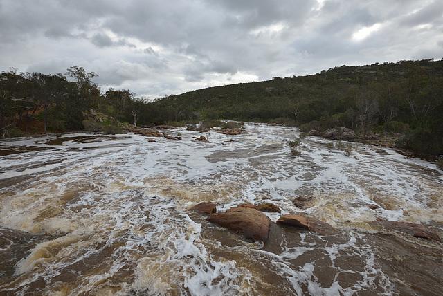 High water at bells Rapids