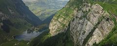 Nochmals Seealpsee - Sicht von der Meglisalp. Schwende, AI, Switzerland