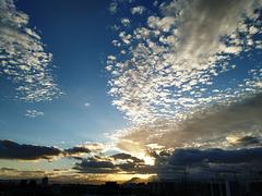 Nubes del atardecer, 3