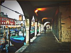 Abends in Chioggia
