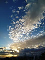 Nubes del atardecer, 4