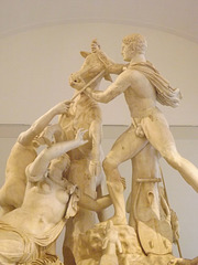 Detail of the Farnese Bull in the Naples Archaeological Museum, July 2012