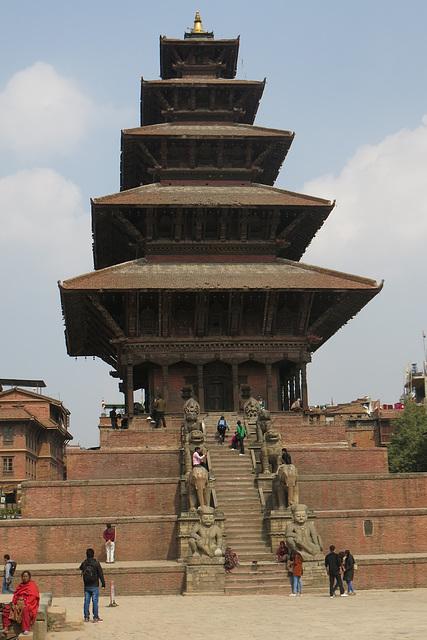 Temple de Nyatapola (Bhaktapur, Népal)