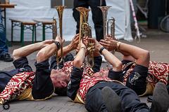 Stemmingsorkest 'Le Bombardon' uit Zwolle