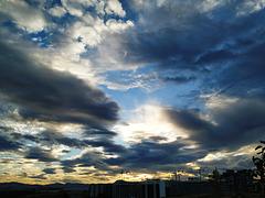 Nubes del atardecer, 5