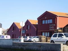 Former salt warehouses.