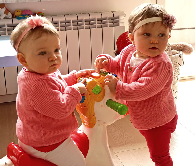 May 2018 : Elisa e Irene - New Life in pink  un anno dopo - (891)
