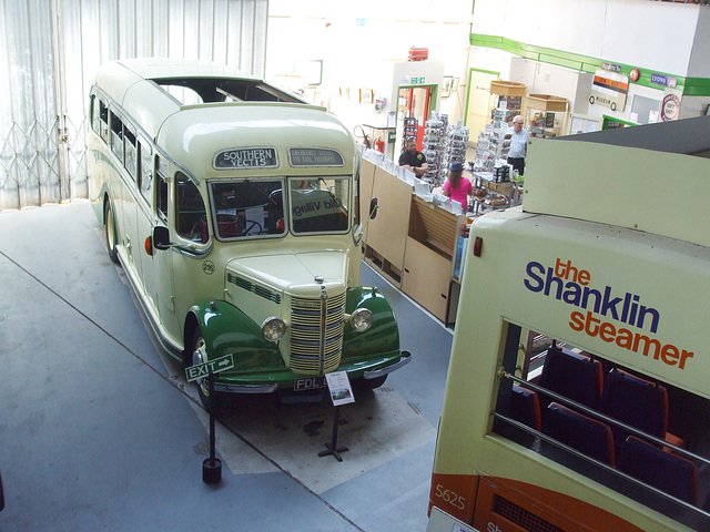DSCF8781 Former Southern Vectis FDL 676 at the Isle of Wight Bus and Coach Museum - 6 July 2017